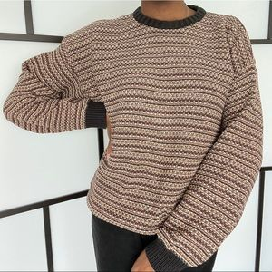 Gant knit crewneck sweater